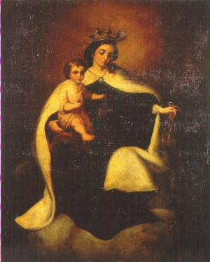 La Santísima Virgen del Carmen, Patrona de la Armada (siglo XIX)